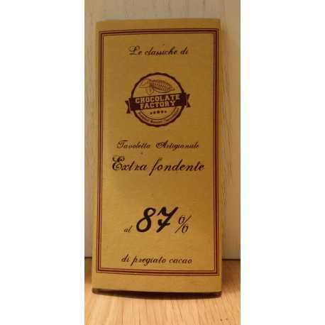 Cioccolato fondente al 87%
