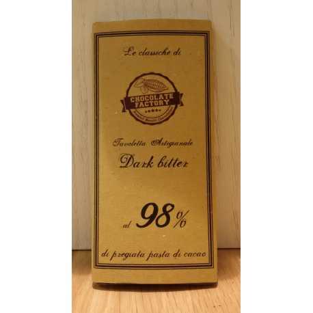 Cioccolato fondente al 98%