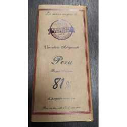 Cioccolato fondente 81% monorigine Perù