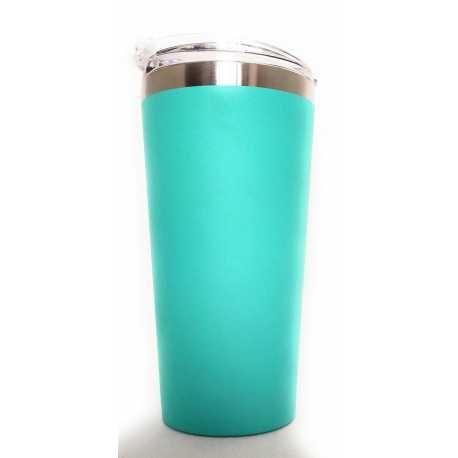 Mug_Termica acciaio inox verde acqua