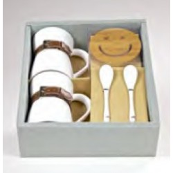 Set Regalo_Smiley Beige