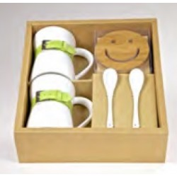 Set Regalo_Smiley Green
