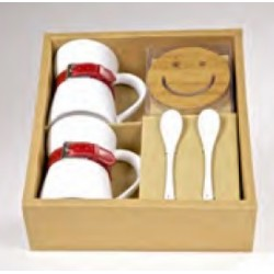 Set Regalo_Smiley Bordeaux
